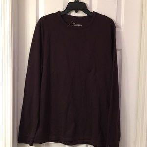 Marc Anthony burgundy shirt size large